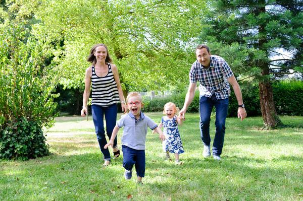 photos de famille en parc à strasbourg - Instant d'émotion