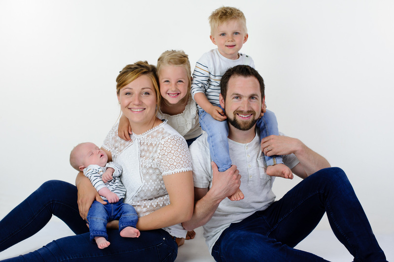 Studio photo famille à Strasbourg  - Instant d'émotion