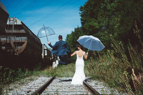 photos de mariage chemin de fer à strasbourg  - Instant d'émotion