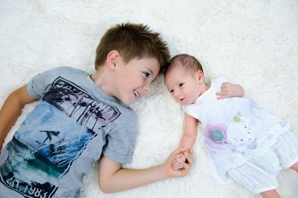 Photographie avant et après la naissance de bébé